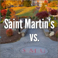 Saint Martin's vs. SMU