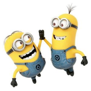 Us minions are high-fivin' it with joy!